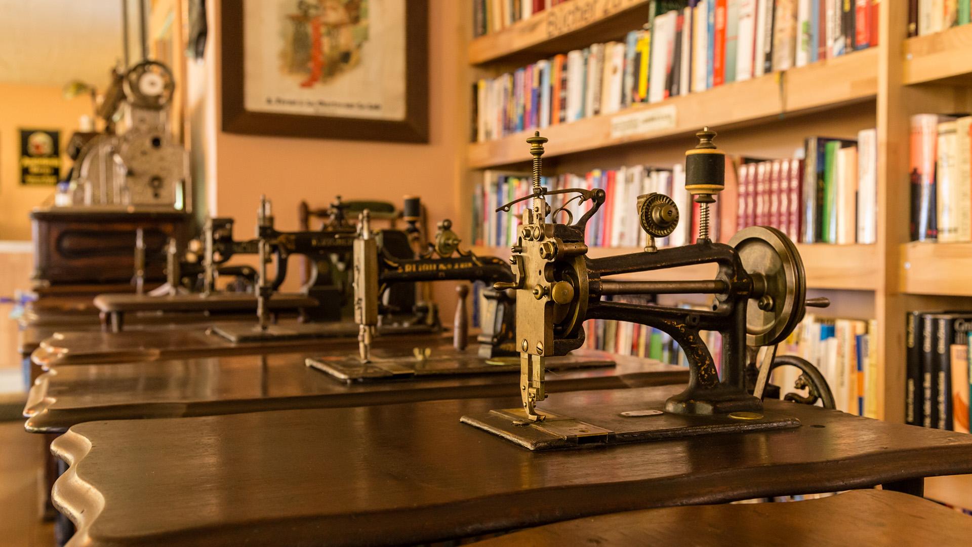 Antike Nähmaschinen Museumsschänke Frangel